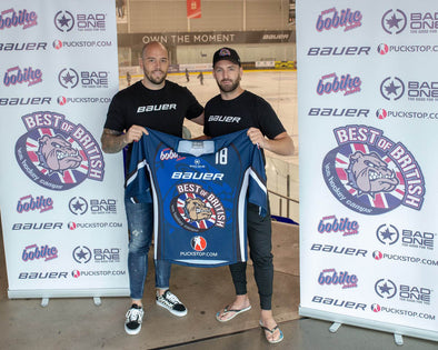 BAUER Hockey UK announces new partnership with Best of British Ice Hockey Camps (BOBIHC)