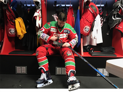 Bauer Hockey UK Announces Partnership with Cardiff Devils forward Joey Martin