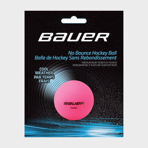 Bauer No Bounce Hockey Balls - Cool Weather