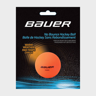 Bauer No Bounce Hockey Balls - Warm Weather