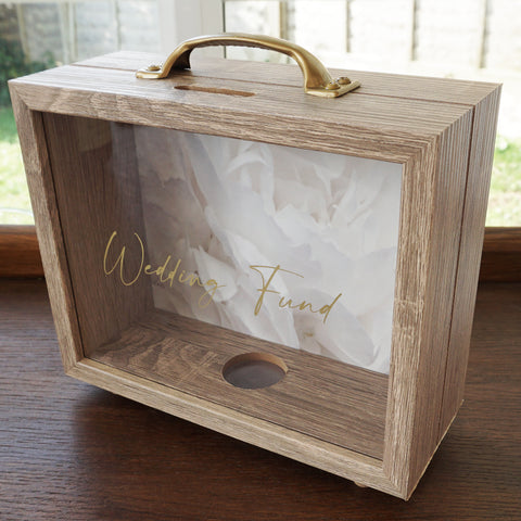 Wedding fund money box new exclusive design perfect gift for newly engaged couples