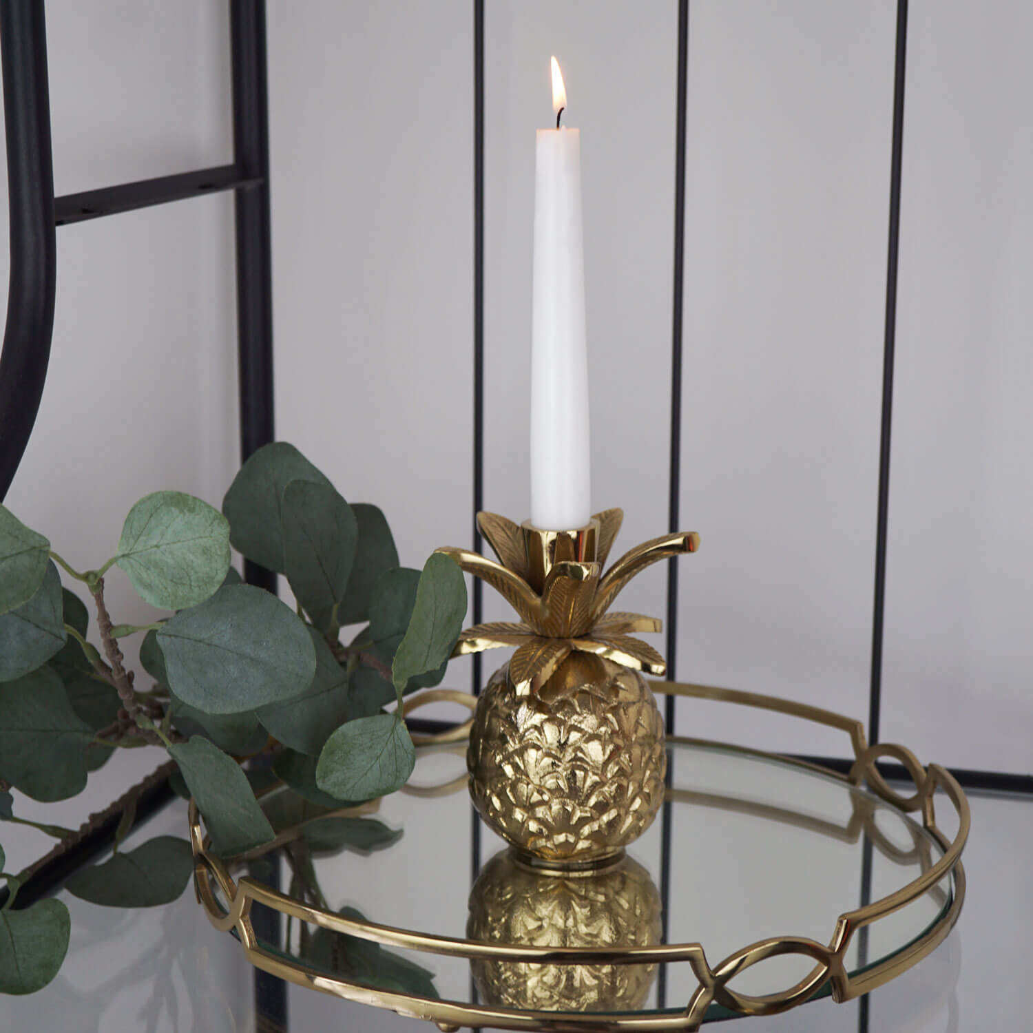 pineapple candle holder elegant gold different fruit candle holder