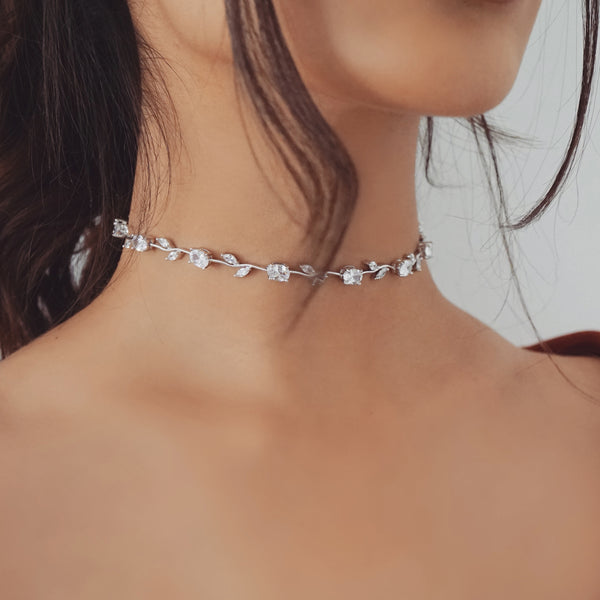 Valentina Rose Stem Statement Choker