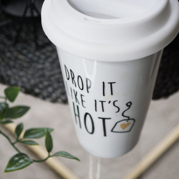 Drop It Like It's Hot Travel Mug