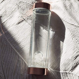 Crystal Infused Elixir Glass Water Bottle