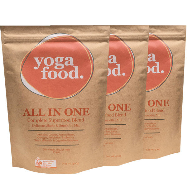 Yoga Food Organic 400g Triple Pack
