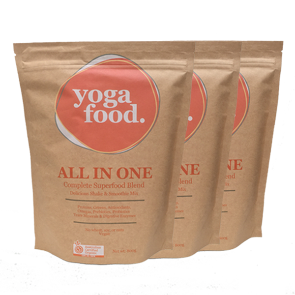Yoga Food Organic 800g - Triple Pack