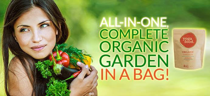All In One Organic Garden In A Bag
