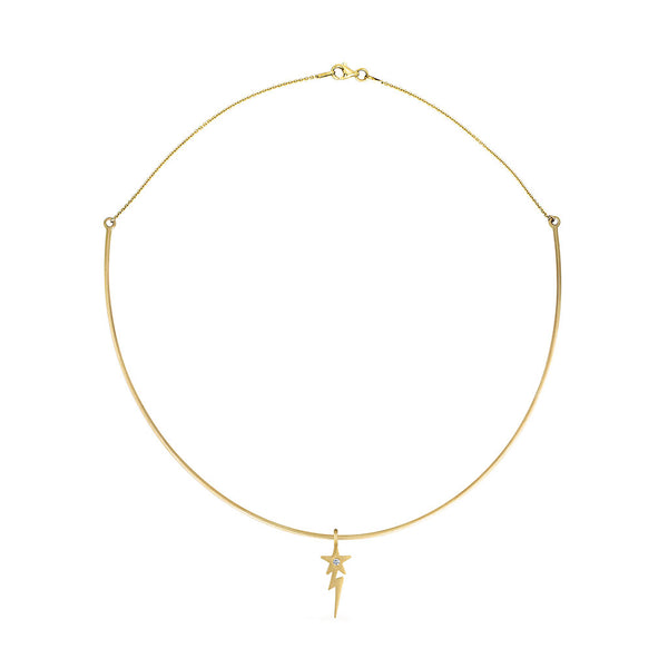 Lightening Star Choker