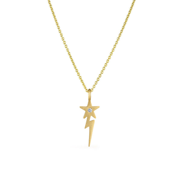 Lightening Star Necklace