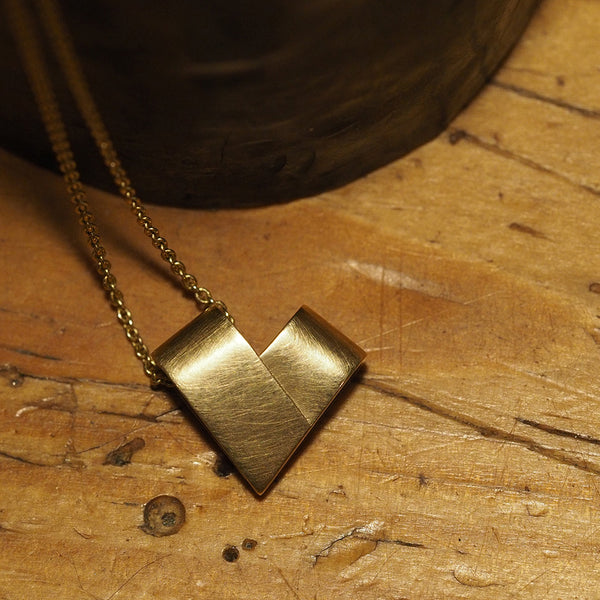 Yellow Gold Necklace | From the Heart