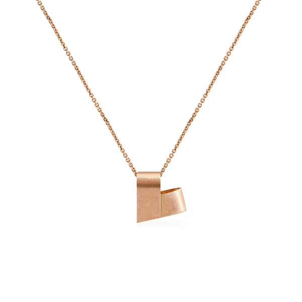 Rose Gold Necklace | From the Heart