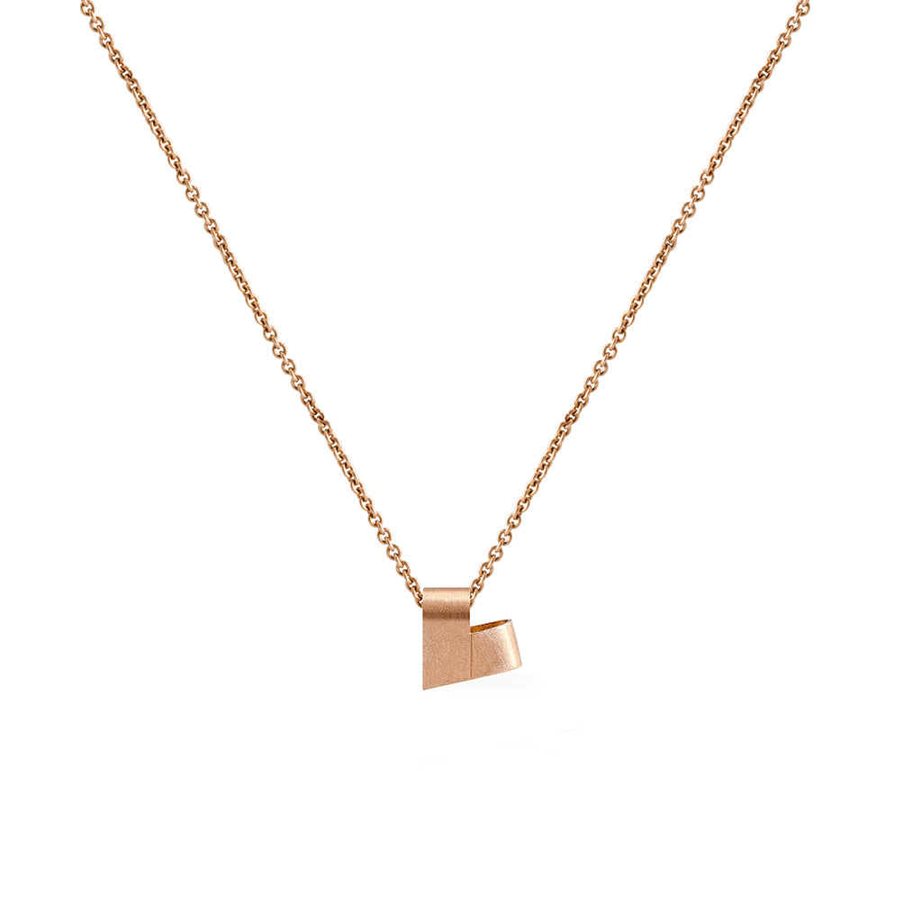 Mini Rose Gold Necklace | From the Heart
