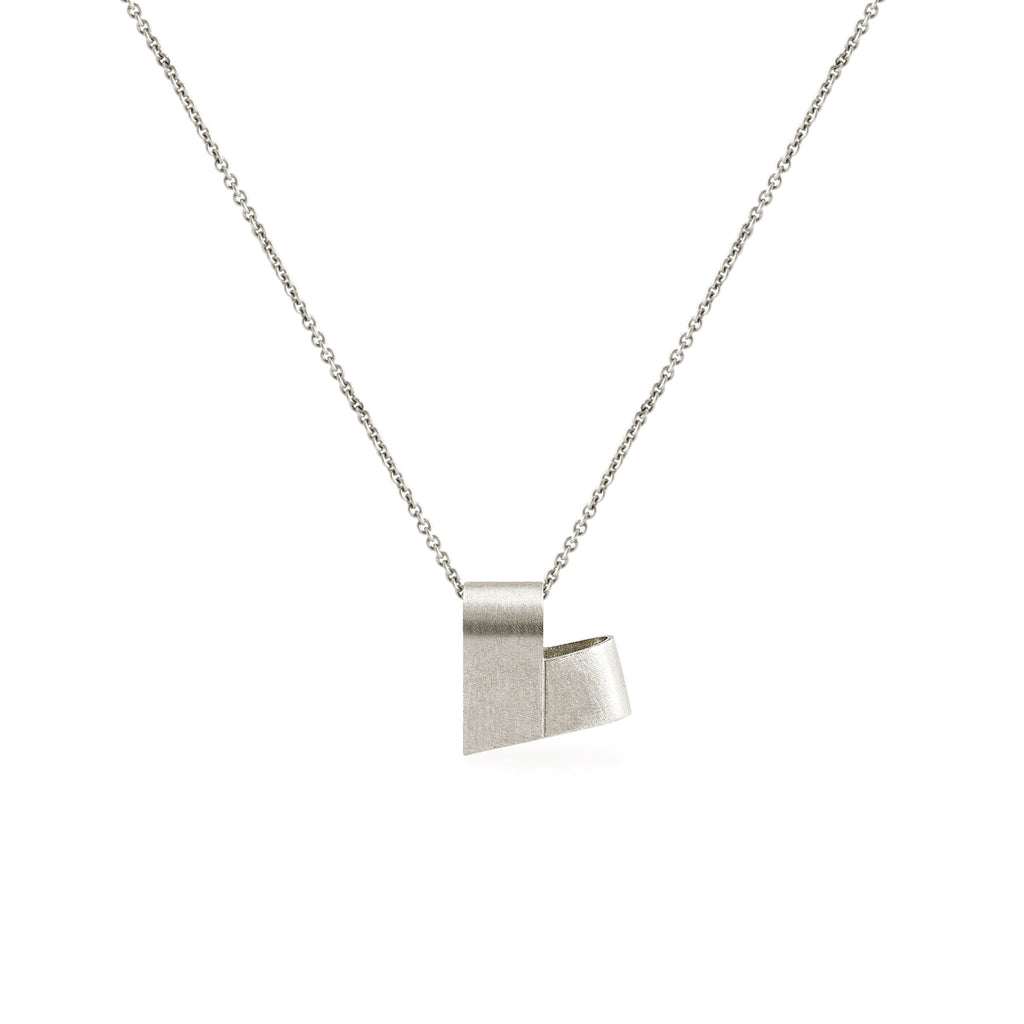 Sterling Silver Necklace | From the Heart