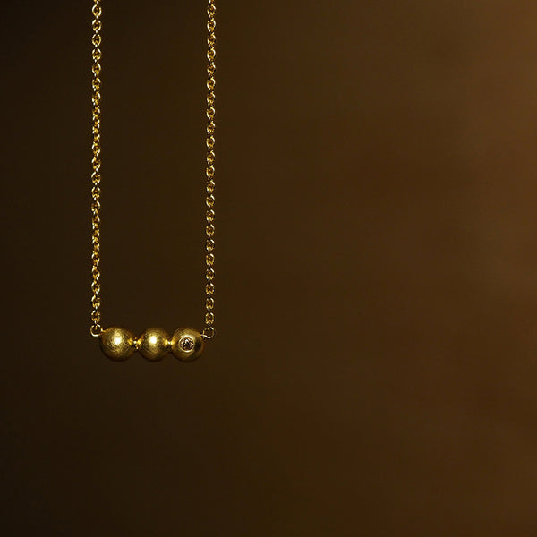 Tria Granule Necklace