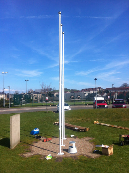 SCHOOL FUN Eco Flagpole