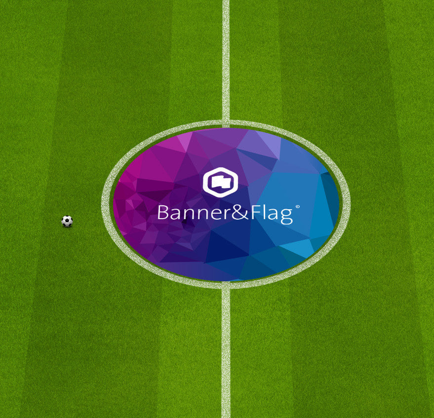 BANNERS - Football Pitch Centre Circles