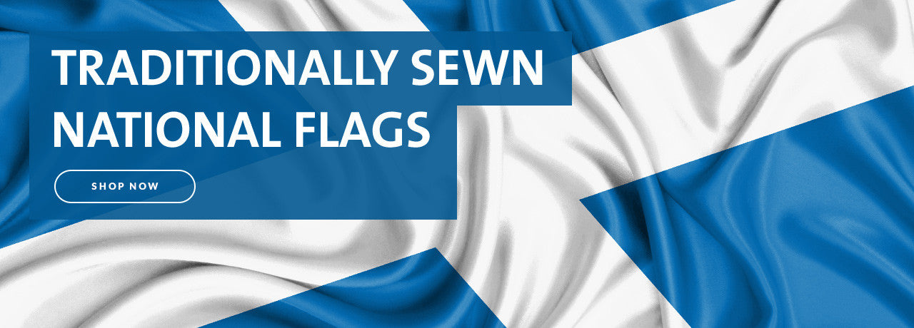 FLAGS - TRADITIONALLY SEWN National