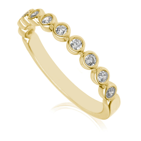 Diamond Half Eternity Ring