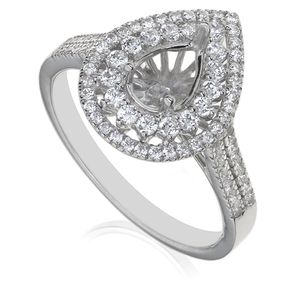 Diamond Semi Mount Ring