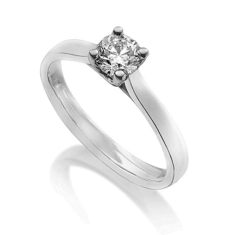 Diamond Single Stone Ring 0.33ct