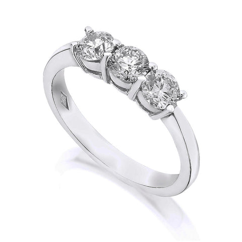 Diamond Three Stone Ring 2.00ct