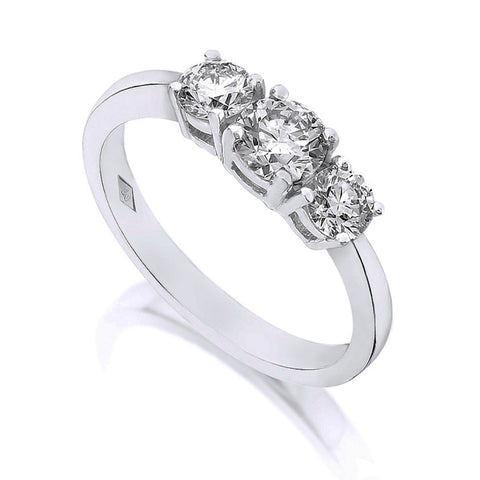 Diamond Three Stone Ring 1.00ct