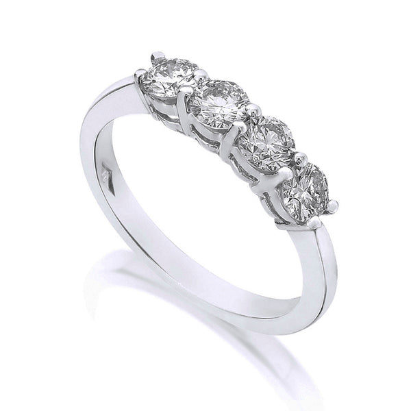 Diamond Four Stone Ring