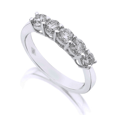 Diamond Five Stone Ring 1.50ct
