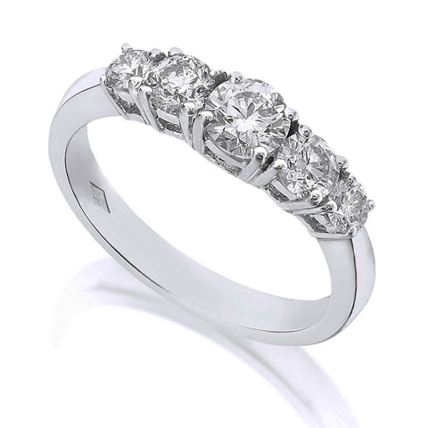 Diamond Five Stone Ring 1.00ct