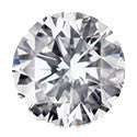 6.59 Carat Round Diamond H Color IF Clarity