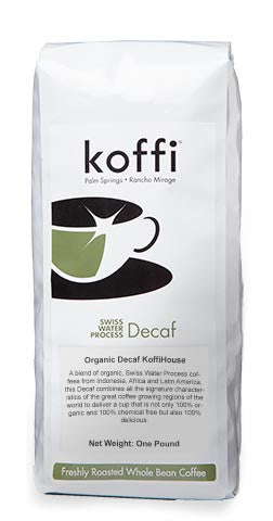 IT TAKES A VILLAGE: Organic Decaf KoffiHouse