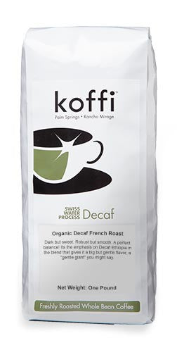 A GENTLE GIANT: Decaf Organic French Roast