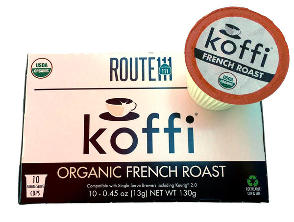ROUTE 111<sup>®</sup> Organic French Roast (Single Serve)