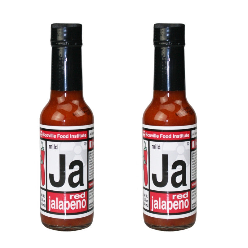"2 bottles of Red Jalapeno Hot Sauce ""Ja"" - FREE SHIPPING!"