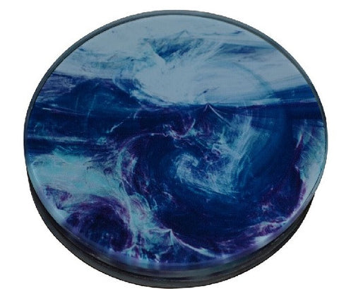Circular Glass Coasters