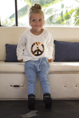 Marley Keep The Peace - cropped jumper