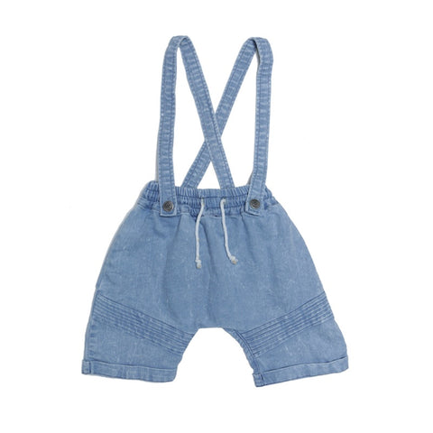 Dash Shorts - Light Blue Denim