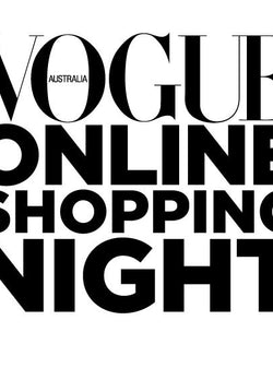 VOGUE ONLINE SHOPPING NIGHT VOSN 2016 | HAUS OF SONG