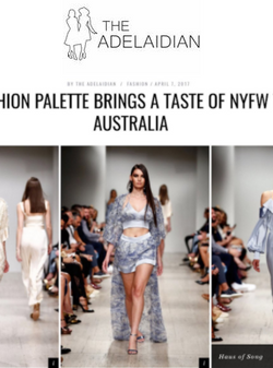 THE ADELAIDIAN - Fashion Palette SS17/18 Sydney | HAUS OF SONG