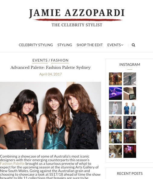 JAMIE AZZOPARDI -The Celebrity Stylist | HAUS OF SONG