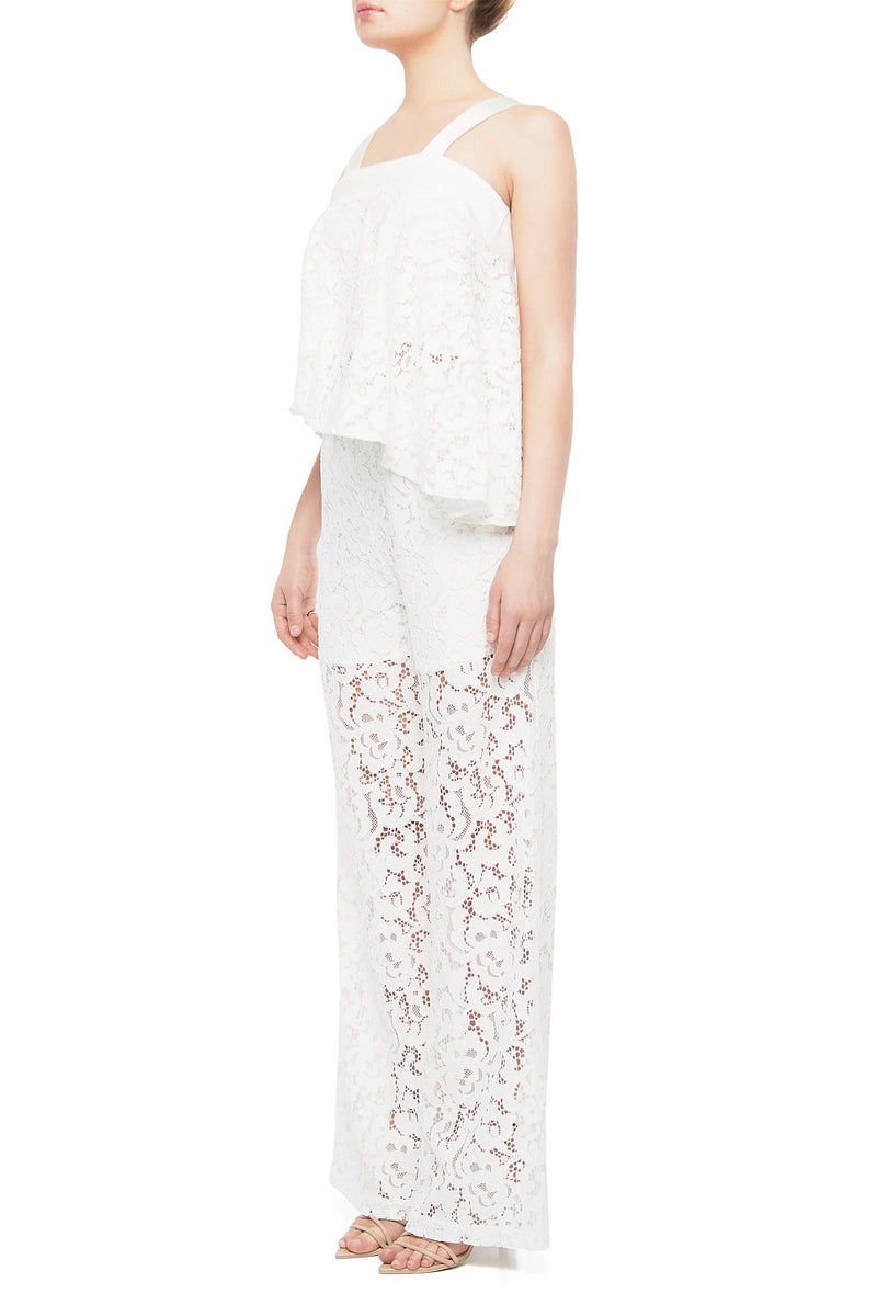 TYRA Silk Lace Pant - HAUS OF SONG