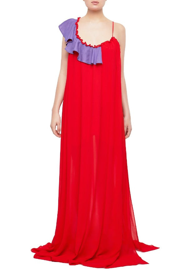 ALIZIA Maxi Slip Dress | HAUS OF SONG