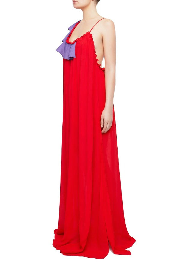 ALIZIA Maxi Slip Dress - HAUS OF SONG