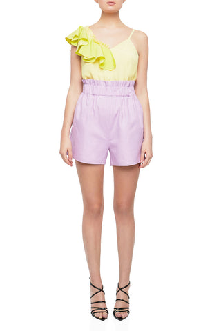 HATE ME Shorts - GRY/PLTNM