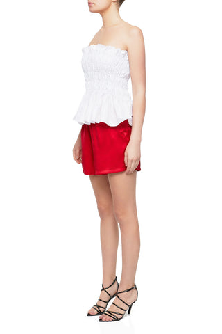POMME Asymmetrical Silk Cami Top