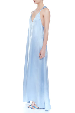 EDEN Silk Maxi Slip Dress | HAUS OF SONG