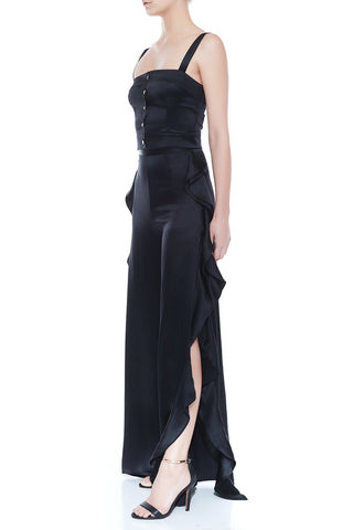 AMELIA Silk Frill Pant | HAUS OF SONG