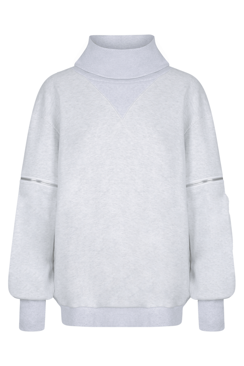 KRYSTALLE Statement Sweatshirt - GRY - HAUS OF SONG