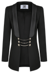VICTORIA Statement Wool Blazer - HAUS OF SONG